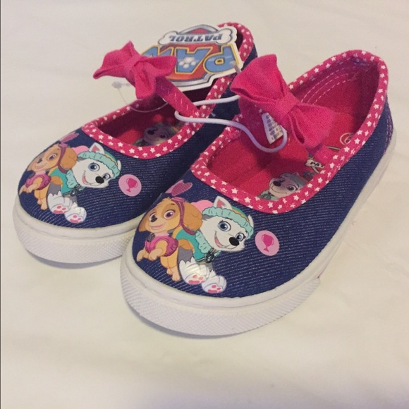 Girls Paw Patrol Shoes Size